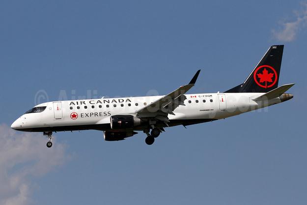Air Canada Express (Sky Regional Airlines) Embraer ERJ 170-200SU (ERJ 175) C-FRQM (msn 17000137) BWI (Brian McDonough). Image: 942608.