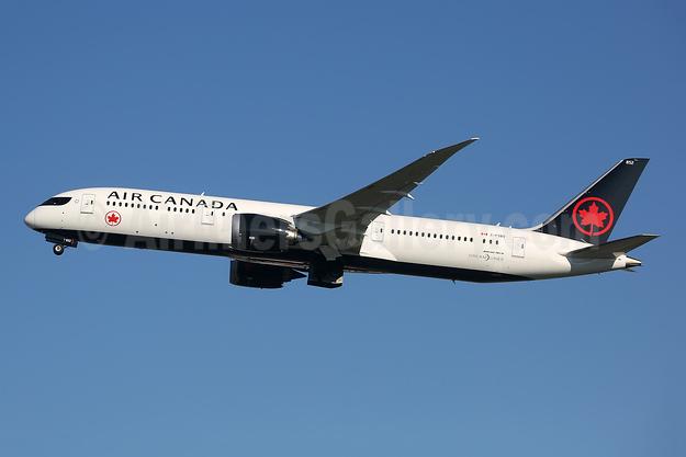 Air Canada Boeing 787-9 Dreamliner C-FSBV (msn 37182) LHR (Keith Burton). Image: 945800.