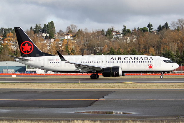 The second MAX 8 for Air Canada