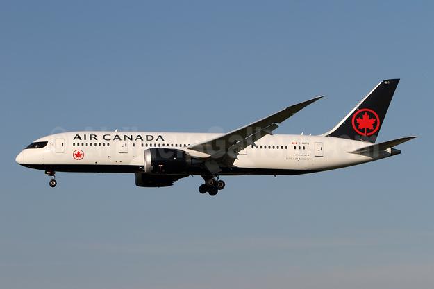 Air Canada Boeing 787-8 Dreamliner C-GHPQ (msn 35257) ZRH (Andi Hiltl). Image: 947454.