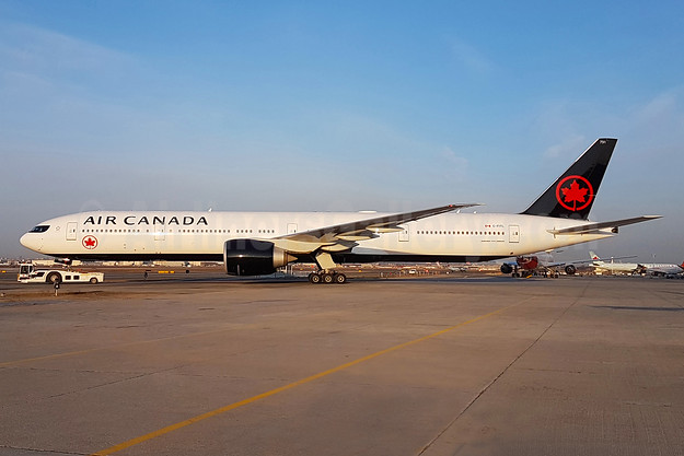 First Boeing 777-300 in the new livery