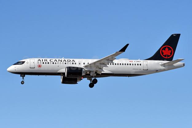 Air Canada Airbus A220-300 (CS300 BD-500-1A11) C-GMZY (msn 55102) YYZ (TMK Photography). Image: 952987.
