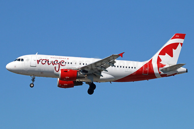 Air Canada rouge (Air Canada) Airbus A319-114 C-FYIY (msn 634) LAX (Michael B. Ing). Image: 928681.