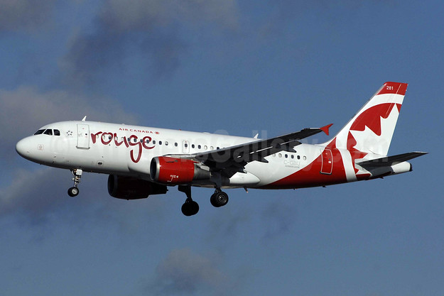 Air Canada rouge (Air Canada) Airbus A319-114 C-GBIJ (msn 829) YYZ (TMK Photography). Image: 930272.