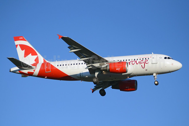 Air Canada rouge (Air Canada) Airbus A319-112 C-GSJB (msn 1673) YYZ (TMK Photography). Image: 913114.
