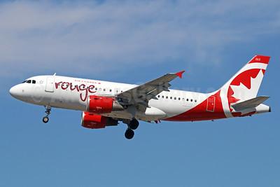 Air Canada rouge (Air Canada) Airbus A319-114 C-FZUG (msn 697) LAX (Michael B. Ing). Image: 928683.
