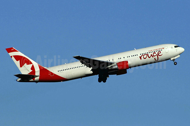Air Canada rouge (Air Canada) Boeing 767-33A ER C-GHPE (msn 33423) YYZ (TMK Photography). Image: 937710.