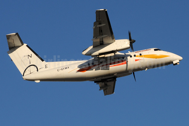 Air Creebec de Havilland Canada DHC-8-103 Dash 8 C-GYWX (msn 175) YUL (Pierre Langlois). Image: 934146.