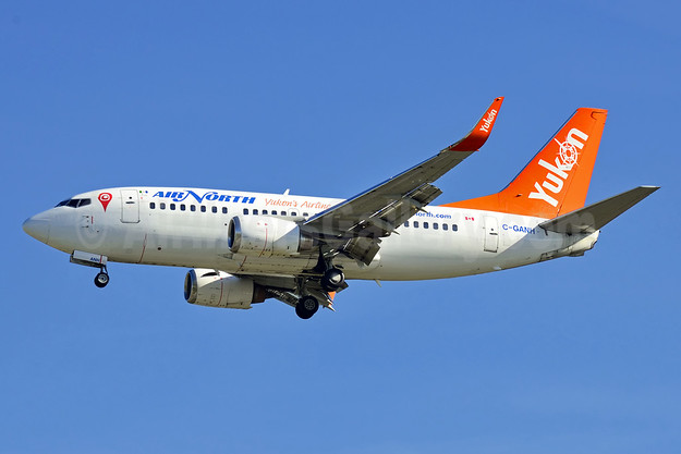 Air North-Yukon's Airline (Canada) Boeing 737-505 WL C-GANH (msn 27153) YVR (Steve Bailey). Image: 924540.