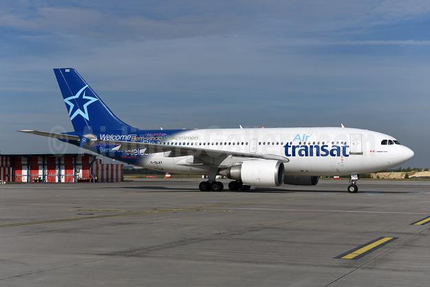 Air Transat Airbus A310-308 C-GLAT (msn 588) PRG (Ton Jochems). Image: 945712.