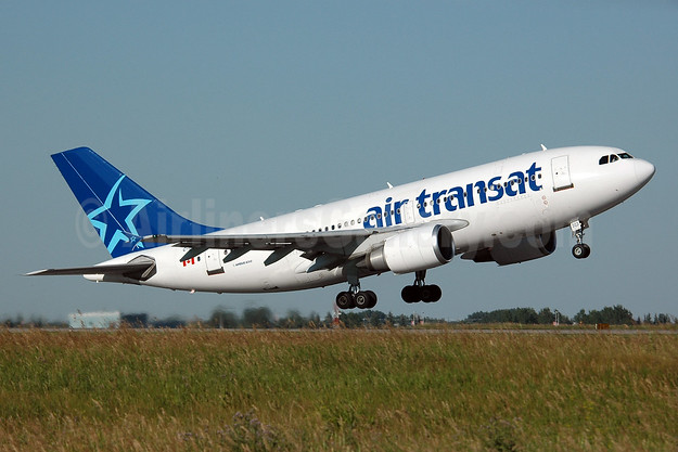 Air Transat Airbus A310-308 C-GTSH (msn 599) YYC (Chris Sands). Image: 926716.