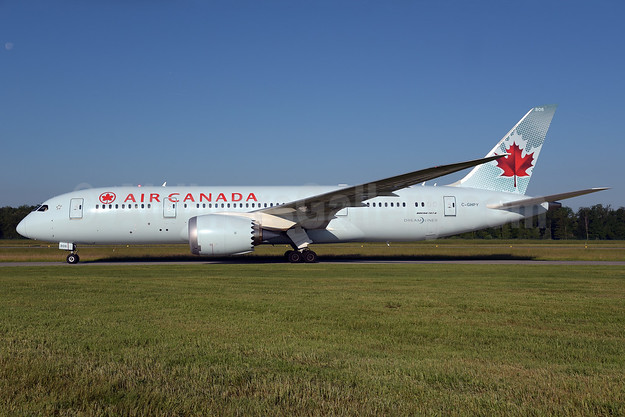 Air Canada Boeing 787-8 Dreamliner C-GHPY (msn 35262) ZRH (Rolf Wallner). Image: 927912.