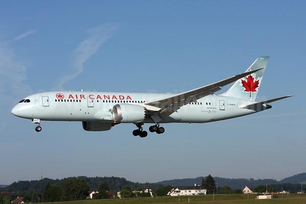 Air Canada Boeing 787-8 Dreamliner C-GHPQ (msn 35257) ZRH (Andi Hiltl). Image: 923112.