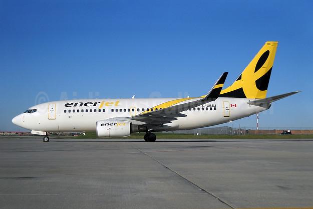 Enerjet Boeing 737-7BD WL C-GBEJ (msn 34480) YYZ (TMK Photography). Image: 905048.