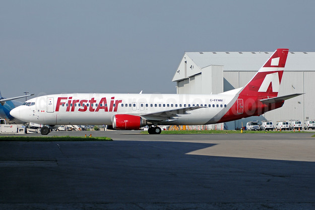 First Air's 2017 new livery