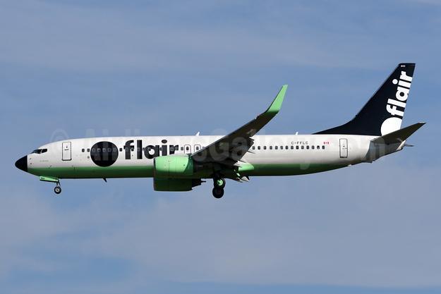 Flair Airlines Boeing 737-86J WL C-FFLC (msn 37758) YYZ (TMK Photography). Image: 950561.