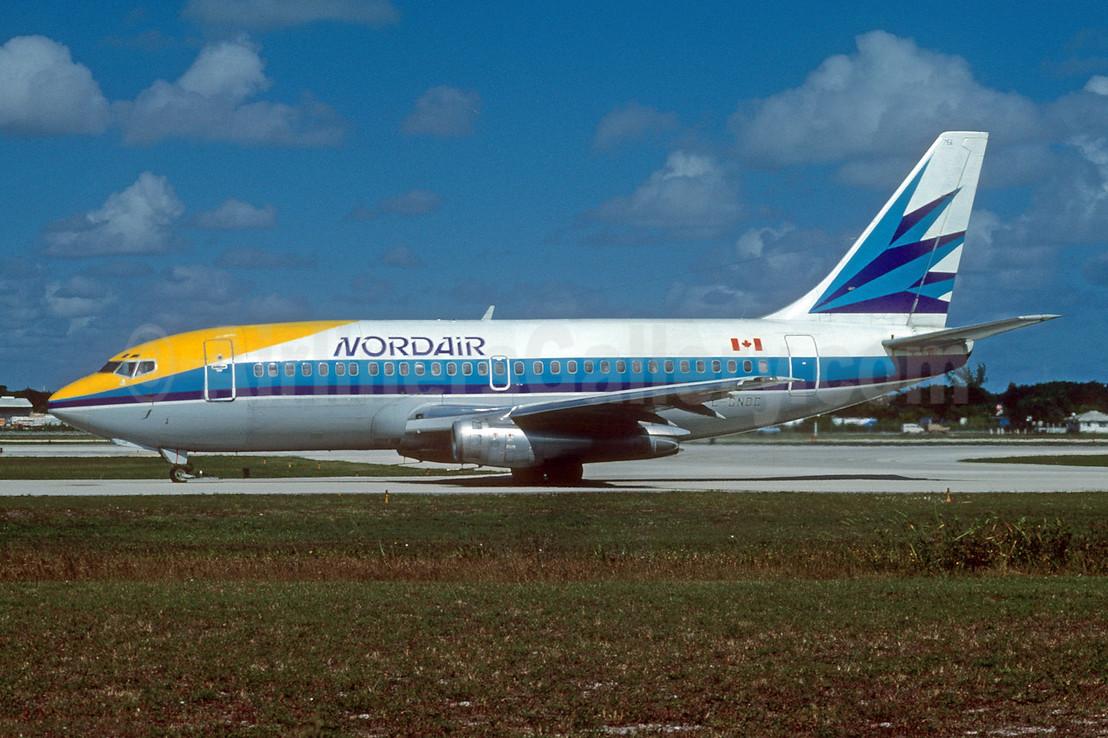 Nordair Boeing 737-242C C-GNDC (msn 21728) FLL (Nigel P. Chalcraft). Image: 909573.