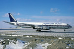 Quebecair Cargo McDonnell Douglas DC-8F-54 Jet Trader C-GQBG (msn 45860) YUL (Christian Volpati Collection). Image: 937924.