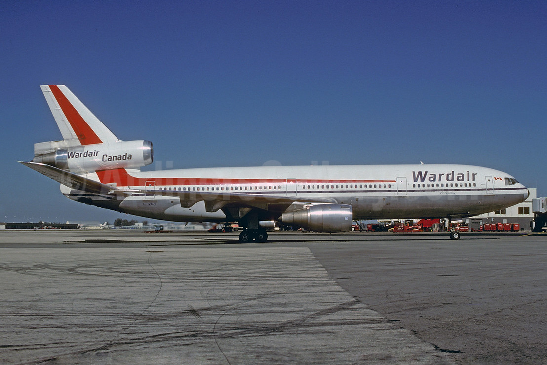 Wardair Canada McDonnell Douglas DC-10-30 C-GXRC (msn 46978) MIA (Bruce Drum). Image: 103016.