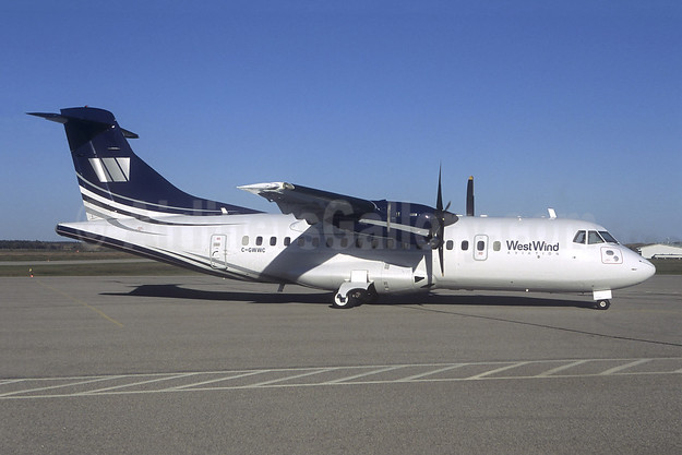 West Wind Aviation ATR 42-300 C-GWWC (msn 209) (Jacques Guillem Collection). Image: 941824.