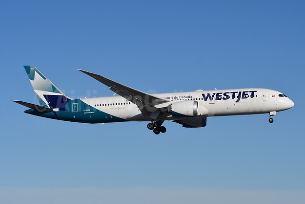WestJet Airlines Boeing 787-9 Dreamliner C-GUDO (msn 64976) YYZ (TMK Photography). Image: 946441.