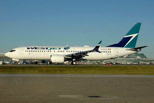 WestJet's first Boeing 737-8 MAX 8