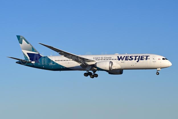 WestJet Airlines Boeing 787-9 Dreamliner C-GURP (msn 64975) YYZ (TMK Photography). Image: 946082.