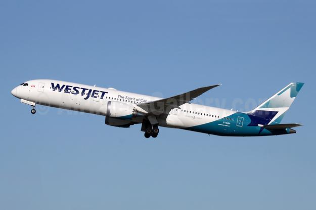 WestJet Airlines Boeing 787-9 Dreamliner C-GURP (msn 64975) LGW (Antony J. Best). Image: 948007.