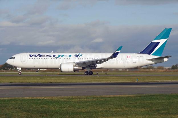 WestJet Airlines Boeing 767-338 ER WL C-FOGJ (msn 25274) YYZ (TMK Photography). Image: 929953.
