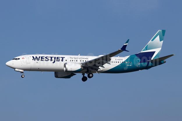 WestJet Airlines Boeing 737-8 MAX 8 C-GZSG (msn 60516) LAX (Michael B. Ing). Image: 944945.