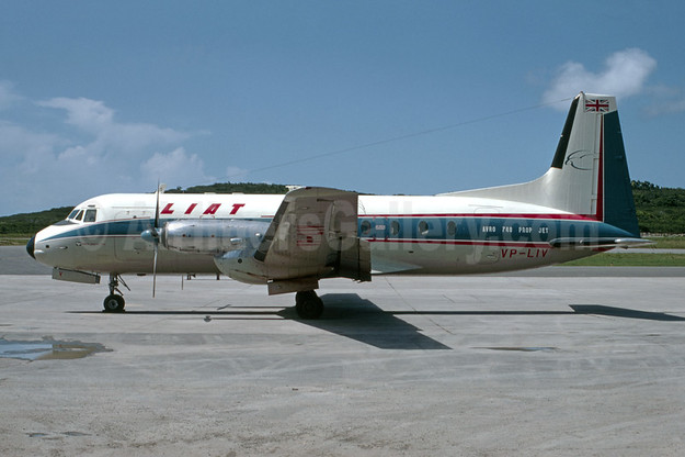 LIAT Hawker-Siddeley HS.748-222 Series 2 VP-LIV (msn 1588) STX (Robert Drum). Image: 105597.