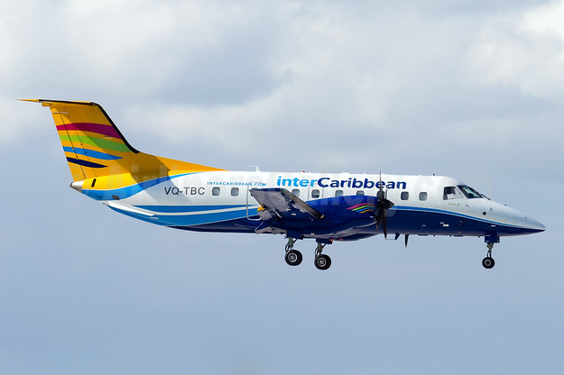 InterCaribbean Airways Embraer EMB-120 Brasilia VQ-TBC (msn 120283) FLL (Andy Cripps). Image: 929340.