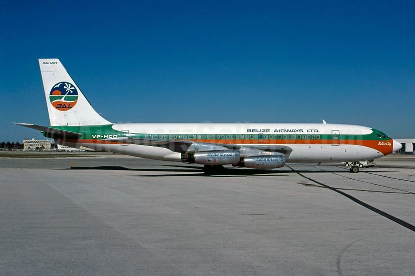 """Airline Color Scheme - Introduced 1976 - """"Belize City"""" - Best Seller"""