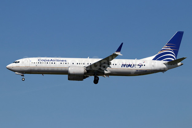 Copa Airlines Boeing 737-9 MAX 9 HP-9901CMP (msn 44161) LAX (Michael B. Ing). Image: 945780.