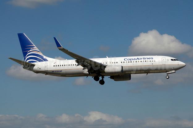 Copa Airlines Boeing 737-8V3 WL HP-1713CMP (msn 40890) MIA (Jay Selman). Image: 404025.