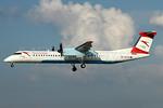 Austrian Airlines Bombardier DHC-8-402 (Q400) OE-LGL (msn 4310) ZRH (Andi Hiltl). Image: 938225.