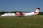 Austrian Airlines Bombardier DHC-8-402 (Q400) OE-LGL (msn 4310) ZRH (Rolf Wallner). Image: 938226.
