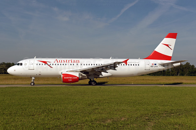 Austrian Airlines Airbus A320-216 OE-LXA (msn 3295) ZRH (Rolf Wallner). Image: 942247.