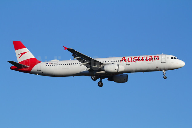Austrian Airlines Airbus A321-211 OE-LBD (msn 920) FRA (Marcelo F. De Biasi). Image: 947624.