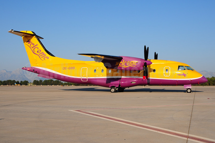 Welcome Air Dornier 328-110 OE-GBB (msn 3078) AYT (Ton Jochems). Image: 953361.