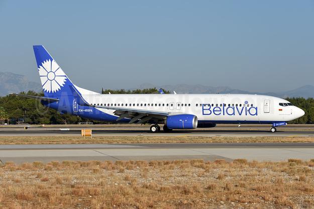 Belavia Belarusian Airlines Boeing 737-8ZM WL EW-455PA (msn 61421) AYT (Ton Jochems). Image: 939770.