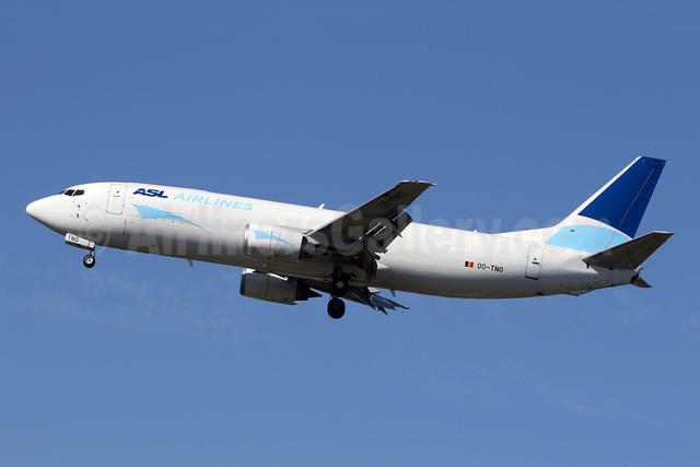 ASL Airlines (Belgium) Boeing 737-49R (F) OO-TNO (msn 28881) FAB (SPA). Image: 943690.