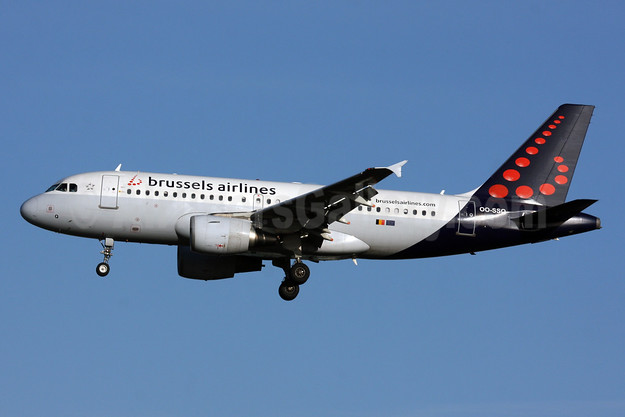 Brussels Airlines Airbus A319-112 OO-SSQ (msn 3790) LHR (SPA). Image: 926868.