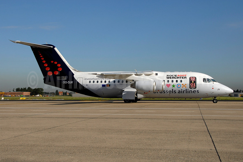 """Rock 2007 Werchter"" special livery"