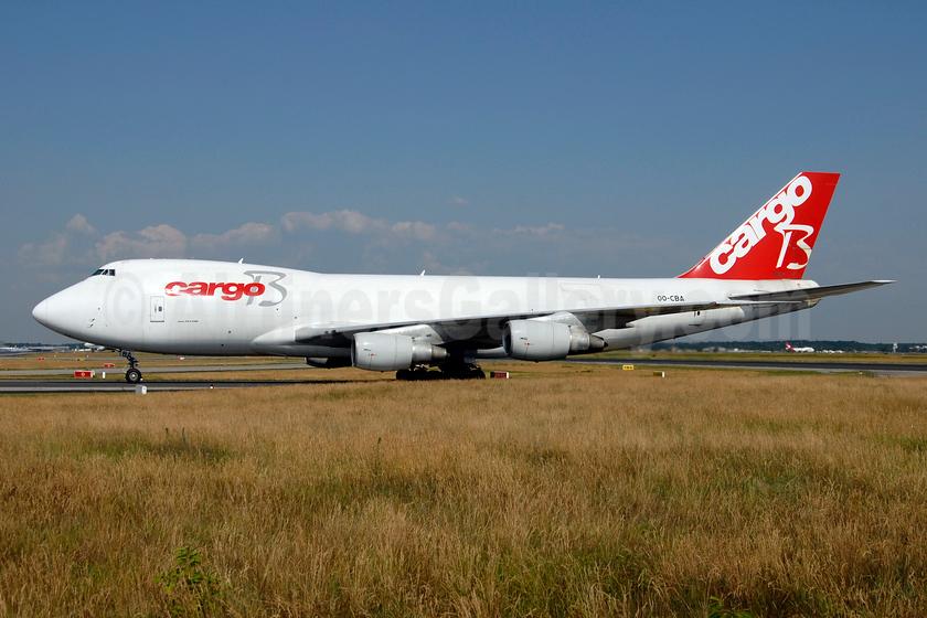 Cargo B Airlines Boeing 747-228F OO-CBA (msn 24158) FRA (Ton Jochems). Image: 953263.