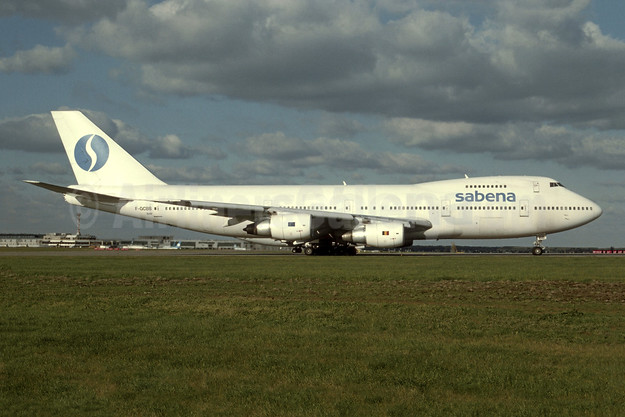 Leased from Air France on February 28, 1993