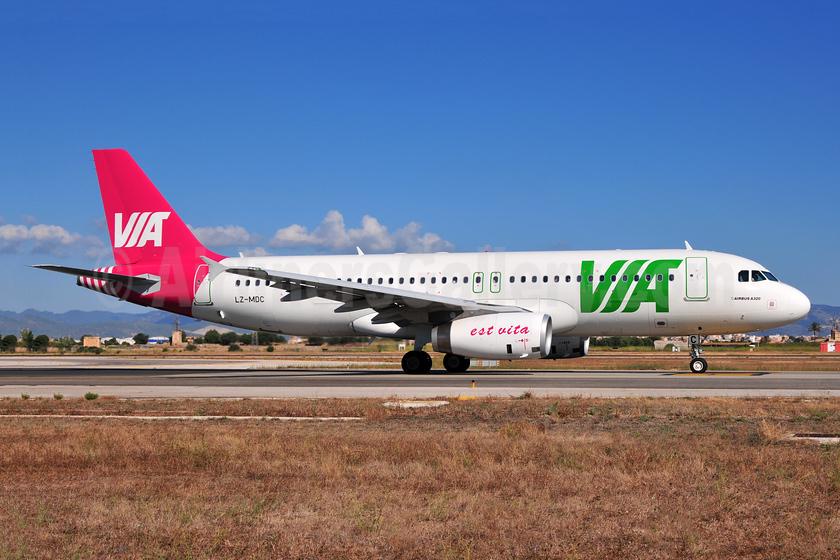 Air VIA Bulgarian Airways Airbus A320-232 LZ-MDC (msn 4270) PMI (Ton Jochems). Image: 953317.