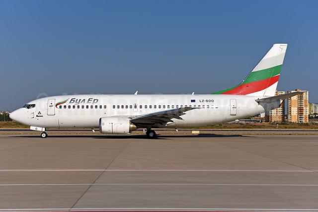 Bul Air Boeing 737-341 LZ-BOO (msn 26852) AYT (Ton Jochems). Image: 939666.