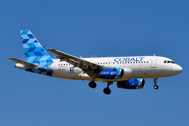 Cobalt Air (cobalt-aero) Airbus A319-132 5B-DCV (msn 2032) ZRH (Tony Storck). Image: 939163.