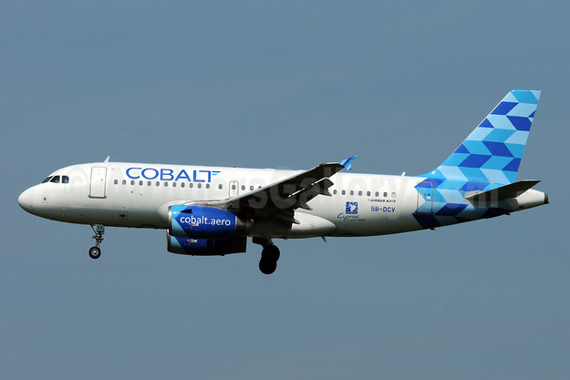 Cobalt Air (cobalt-aero) Airbus A319-132 5B-DCV (msn 2032) BRU (Karl Cornil). Image: 938681.